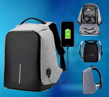 Men Backpack Anti-Theft Multinational Laptop Backpack With USB Charge Port