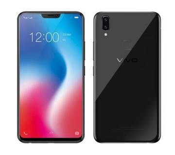 Vivo V9, 4GB-64GB, 6.3 inches Display, 3260 mAh Integrated Battery, Color-Black