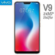 Vivo V9, 4GB-64GB, 6.3 inches Display, 3260 mAh Integrated Battery, Color-Black বাংলাদেশ - 6968102