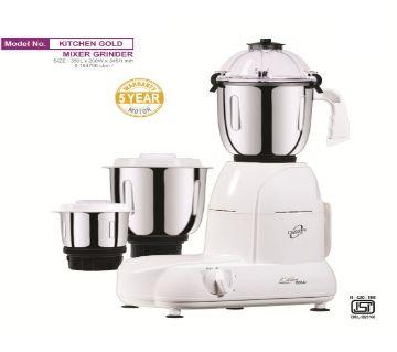 Orpat Kitchen Gold 900-Watt Mixer Grinder (White)