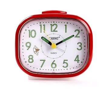 ORPAT 647 Table Clock (Red)