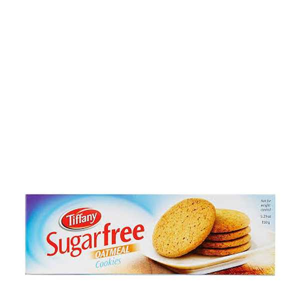 Tiffany Sugerfree oatmil cookies 150 gm