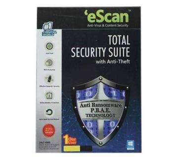eScan Anti-Virus - 3 User