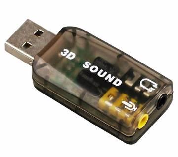 USB 3D Sound Card
