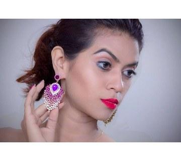 Ladies Diamond Cut Earrings