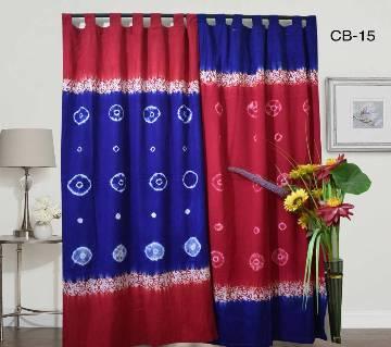Batik curtain