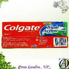 Colgate ট্রিপল অ্যাকশন টুথপেষ্ট 100ml (Ireland)