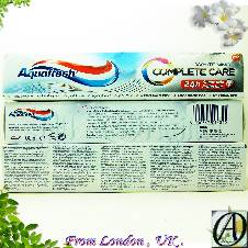 Aquafresh Complete Care Whitening Toothpaste 100ml (Ireland)