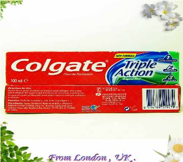 Colgate Triple Action টুথপেস্ট 100Ml