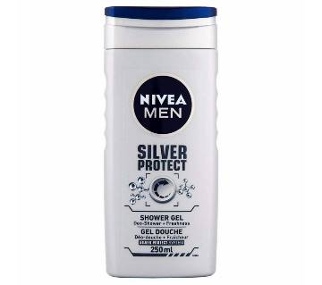 Nivea For Men শাওয়ার জেল -Silver Protect