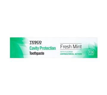 Tesco Freshmint Cavity Protection Toothpaste 100Ml