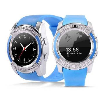 V8 Smart Mobile Watch - Sim Supported