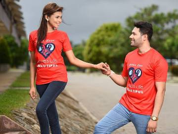 Ritzy Exclusive Couple T-Shirt