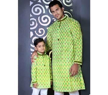 Mens and Kids Panjabi Payjama Set