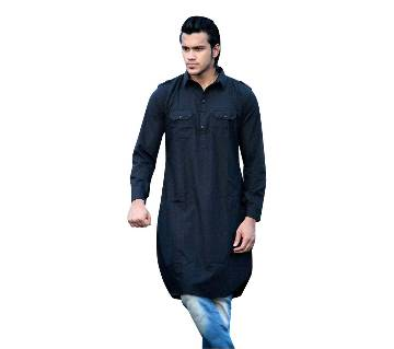 gents cotton semi long kabli punjabi