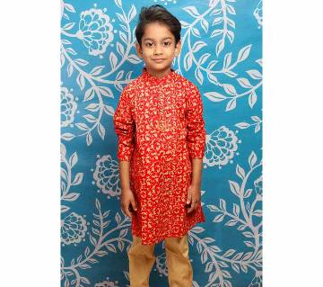 Eid Special Kids Cotton Panjabi