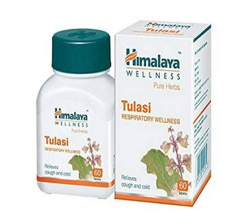Himalaya Pure Herbs Tulasi Respiratory Wellness - 60 Tablets-India