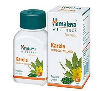 Himalaya Pure Herbs Karela Metabolic Wellness - 60 Tablets-India