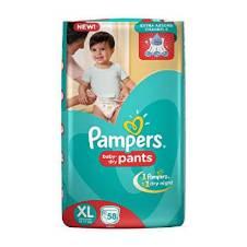 Pampers pants XL (12-17) kg - 58 Piece