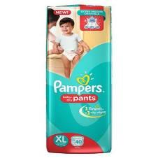 Pampers pants XL (12-17) kg - 40 Piece