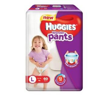 Huggies wonder pants (L-60 pcs)