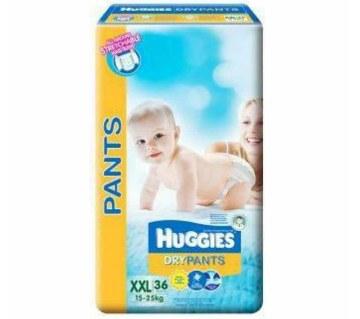 Huggies ড্রাই প্যান্ট -XXL (১৫-২৫ কেজি)-৩2 পিস