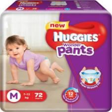 Huggies wonder pants M (7-12kg) 72 pcs