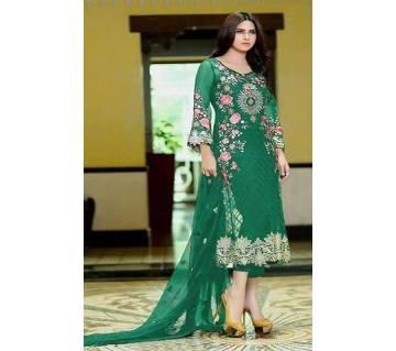 Charizma Designer Eiliyah Vol-1 Light green Indian unstitched 3pcs
