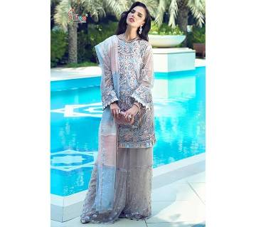 Shree Fabs Mushq Suits Indian unstitched 3pcs