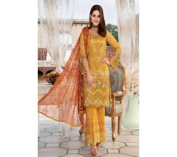 Cyra Fashion Indian unstitched 3pcs