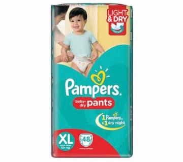 Pampers  ড্রাই প্যান্টস (12-17kg)- 44pcs