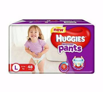 Huggies wonder pants L (9-14kg) 48p