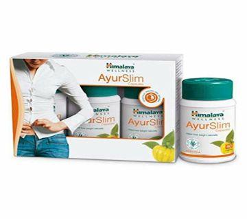 AyurSlim Helps Weight Lose Naturally - 60Capsules-India.