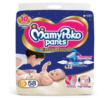 Mamy poko  ড্রাই প্যান্টস (4-8kg) 60pcs