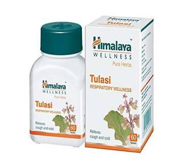 Himalaya Wellness Pure Herbs Tulasi Respiratory Wellness - 60 Tablets-India