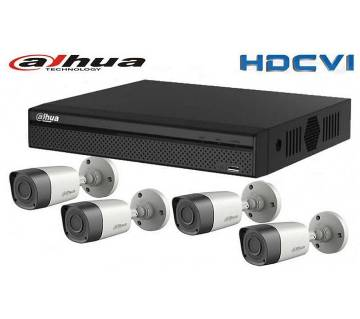 4 channel DAHUA DVR Package