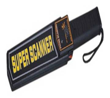Super Scanner Hand-Held Metal Detector