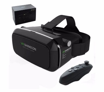 VR Box 3D Glass with Remote