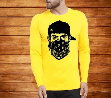 Mens Full Sleeve Cotton T-shirt Bangladesh - 10561091