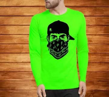Mens Full Sleeve Cotton T-shirt Bangladesh - 10561121