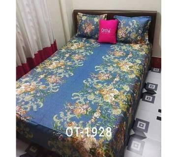 Cotton Bedsheet Set (Double) Bangladesh - 10221181