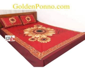 Cotton Bedsheet Set (Double)