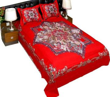 Cotton Bedsheet Set (Double) Bangladesh - 10221221