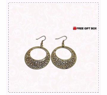 Diamond cut stone setting EAR Ring
