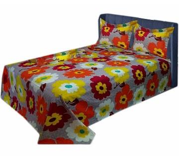 Home Tex Cotton double size bedsheet set