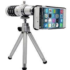 Universal 12X Zoom Telescope Mobile Phone Lens