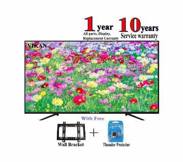 Vikan 32 inch HD LED TV  - Black Smile