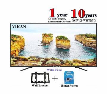 40 inch Vikan HD ULTRA SLIM LED TV - Black smile