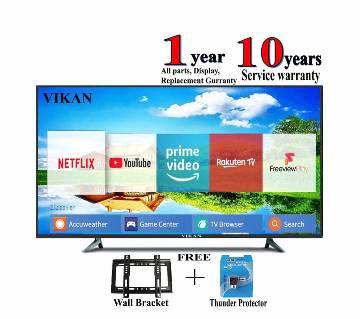 Vikan Smart/wifi HD LED TV - 43 - Black smile