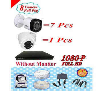 DAHUA 8 CC CAMERA PAKAGE WITHOUT MONITOR PKGDA-110